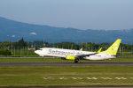 wing-aceさんが、鹿児島空港で撮影したソラシド エア 737-81Dの航空フォト(写真)