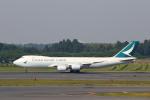 prado120さんが、成田国際空港で撮影したキャセイパシフィック航空 747-867F/SCDの航空フォト(写真)