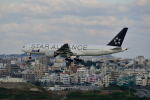 ポン太さんが、那覇空港で撮影した全日空 777-281の航空フォト(写真)