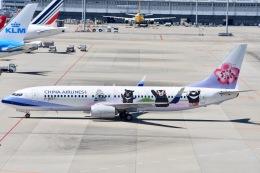 ジャコビさんが、関西国際空港で撮影したチャイナエアライン 737-8FHの航空フォト(写真)