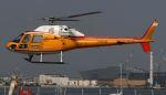 航空見聞録さんが、舞洲ヘリポートで撮影した阪急航空 AS355F1 Ecureuil 2の航空フォト(写真)
