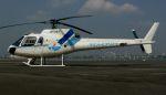 航空見聞録さんが、舞洲ヘリポートで撮影したにしがき AS350B Ecureuilの航空フォト(写真)