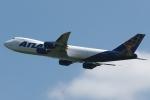 木人さんが、成田国際空港で撮影したアトラス航空 747-87UF/SCDの航空フォト(写真)