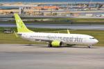 LEGACY747さんが、那覇空港で撮影したソラシド エア 737-81Dの航空フォト(写真)