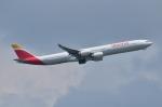 mazdaspeed3さんが、成田国際空港で撮影したイベリア航空 A340-642Xの航空フォト(写真)
