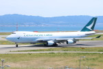水月さんが、関西国際空港で撮影したキャセイパシフィック航空 747-467F/ER/SCDの航空フォト(写真)