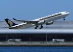 suke55さんが、関西国際空港で撮影したシンガポール航空 A330-343Xの航空フォト(写真)