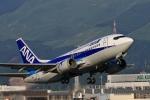 門ミフさんが、熊本空港で撮影したANAウイングス 737-54Kの航空フォト(写真)