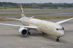amagoさんが、成田国際空港で撮影したエティハド航空 787-9の航空フォト(写真)