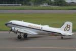 プルシアンブルーさんが、福島空港で撮影したスーパーコンステレーション飛行協会 DC-3Aの航空フォト(写真)