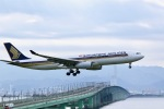 junjunskywalkerさんが、関西国際空港で撮影したシンガポール航空 A330-343Xの航空フォト(写真)