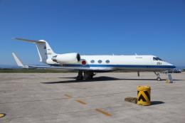 ぽんさんが、米子空港で撮影した航空自衛隊 U-4 Gulfstream IV (G-IV-MPA)の航空フォト(写真)