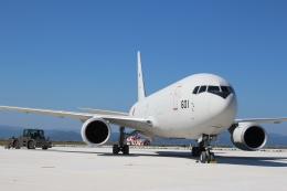 ぽんさんが、米子空港で撮影した航空自衛隊 KC-767J (767-2FK/ER)の航空フォト(写真)