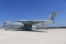 ぽんさんが、米子空港で撮影した航空自衛隊 C-2の航空フォト(写真)