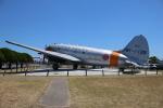 ぽんさんが、米子空港で撮影した航空自衛隊 C-46A-50-CUの航空フォト(写真)