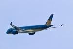 junjunskywalkerさんが、関西国際空港で撮影したベトナム航空 A350-941XWBの航空フォト(写真)