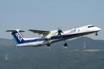 RJBB Spotterさんが、熊本空港で撮影したANAウイングス DHC-8-402Q Dash 8の航空フォト(写真)