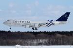 JA19OHさんが、新千歳空港で撮影したチャイナエアライン 747-409の航空フォト(写真)