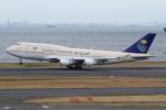 JA19OHさんが、羽田空港で撮影したサウジアラビア王国政府 747-468の航空フォト(写真)