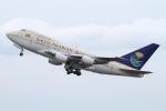 JA19OHさんが、羽田空港で撮影したサウジアラビア王国政府 747SP-68の航空フォト(写真)