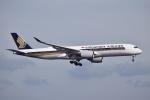 sonnyさんが、羽田空港で撮影したシンガポール航空 A350-941XWBの航空フォト(写真)