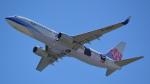 toyoquitoさんが、関西国際空港で撮影したチャイナエアライン 737-8FHの航空フォト(写真)