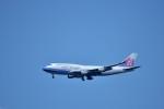 おかめさんが、成田国際空港で撮影したチャイナエアライン 747-409の航空フォト(写真)