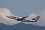 mougandouさんが、香港国際空港で撮影したシンガポール航空カーゴ 747-412F/SCDの航空フォト(写真)