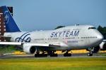 kamerajiijiさんが、成田国際空港で撮影したチャイナエアライン 747-409の航空フォト(写真)