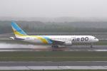 khideさんが、新千歳空港で撮影したAIR DO 767-33A/ERの航空フォト(写真)