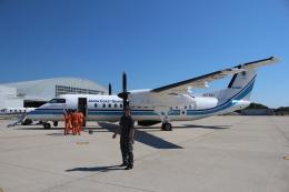 ぽんさんが、米子空港で撮影した海上保安庁 DHC-8-315Q Dash 8の航空フォト(写真)