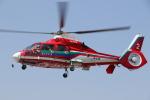 ゴンタさんが、ホンダエアポートで撮影した埼玉県防災航空隊 AS365N3 Dauphin 2の航空フォト(写真)