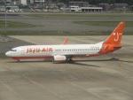 commet7575さんが、福岡空港で撮影したチェジュ航空 737-8Q8の航空フォト(写真)