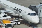 tabi0329さんが、鹿児島空港で撮影したジェイ・エア ERJ-190-100(ERJ-190STD)の航空フォト(写真)