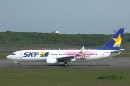 khideさんが、新千歳空港で撮影したスカイマーク 737-86Nの航空フォト(写真)