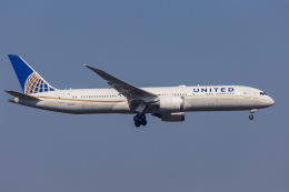 mameshibaさんが、成田国際空港で撮影したユナイテッド航空 787-9の航空フォト(写真)