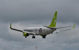 HS888さんが、鹿児島空港で撮影したソラシド エア 737-86Nの航空フォト(写真)