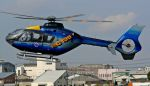 航空見聞録さんが、八尾空港で撮影した東邦航空 EC135P1の航空フォト(写真)