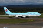 JA19OHさんが、新千歳空港で撮影した大韓航空 747-4B5の航空フォト(写真)