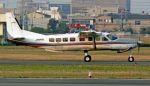 航空見聞録さんが、八尾空港で撮影した朝日航空 208B Grand Caravanの航空フォト(写真)