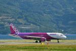 なないろさんが、長崎空港で撮影したピーチ A320-214の航空フォト(写真)