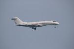 A350XWB-HNDさんが、香港国際空港で撮影したアメリカ個人所有 BD-700 Global Express/5000/6000の航空フォト(写真)