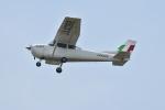 たっしーさんが、熊本空港で撮影した新日本航空 172P Skyhawkの航空フォト(写真)