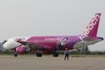 やまけんさんが、仙台空港で撮影したピーチ A320-214の航空フォト(写真)