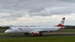 flytaka78さんが、マンチェスター空港で撮影したオーストリア航空 ERJ-190-200 LR (ERJ-195LR)の航空フォト(写真)