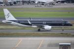 キイロイトリ1005fさんが、羽田空港で撮影したスターフライヤー A320-214の航空フォト(写真)