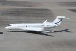 ハム太郎さんが、羽田空港で撮影したBank of Utah Trustee  G650 (G-VI)の航空フォト(写真)