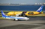 czuleさんが、羽田空港で撮影した全日空 777-281/ERの航空フォト(写真)