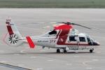 comdigimaniaさんが、函館空港で撮影した朝日航洋 AS365N3 Dauphin 2の航空フォト(写真)