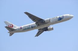 蒲田賢二さんが、成田国際空港で撮影した全日空 767-381/ERの航空フォト(写真)